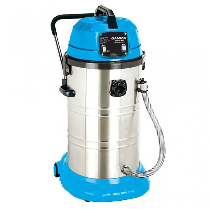 Aspiradora industrial 2x 1000 60 litros