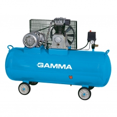 Compresor a correa de 500 litros trifásico con ruedas