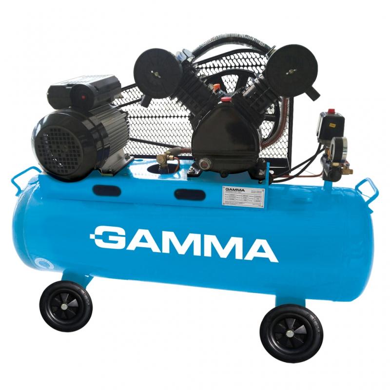 Compresor bicilíndrico de 100 litros